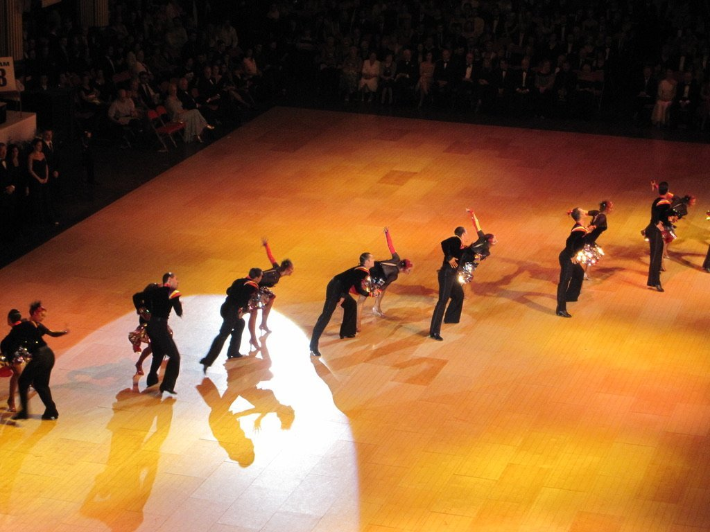 A Competitive Dance Demonstration