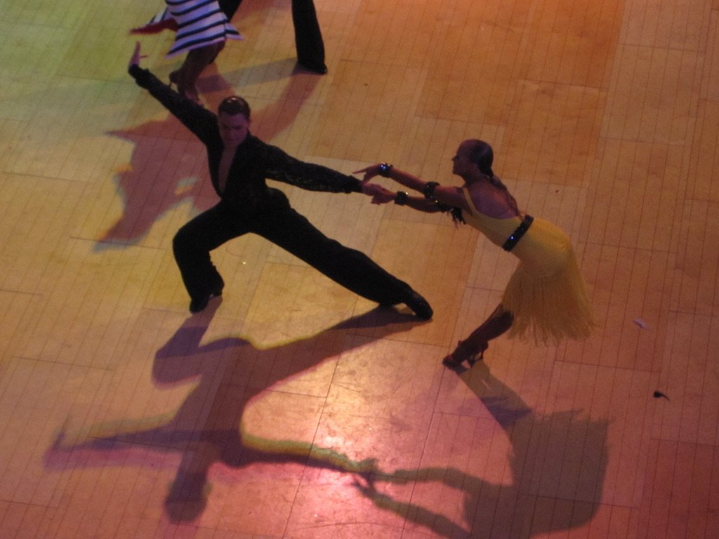 Partners at a Competitive Dance Competition