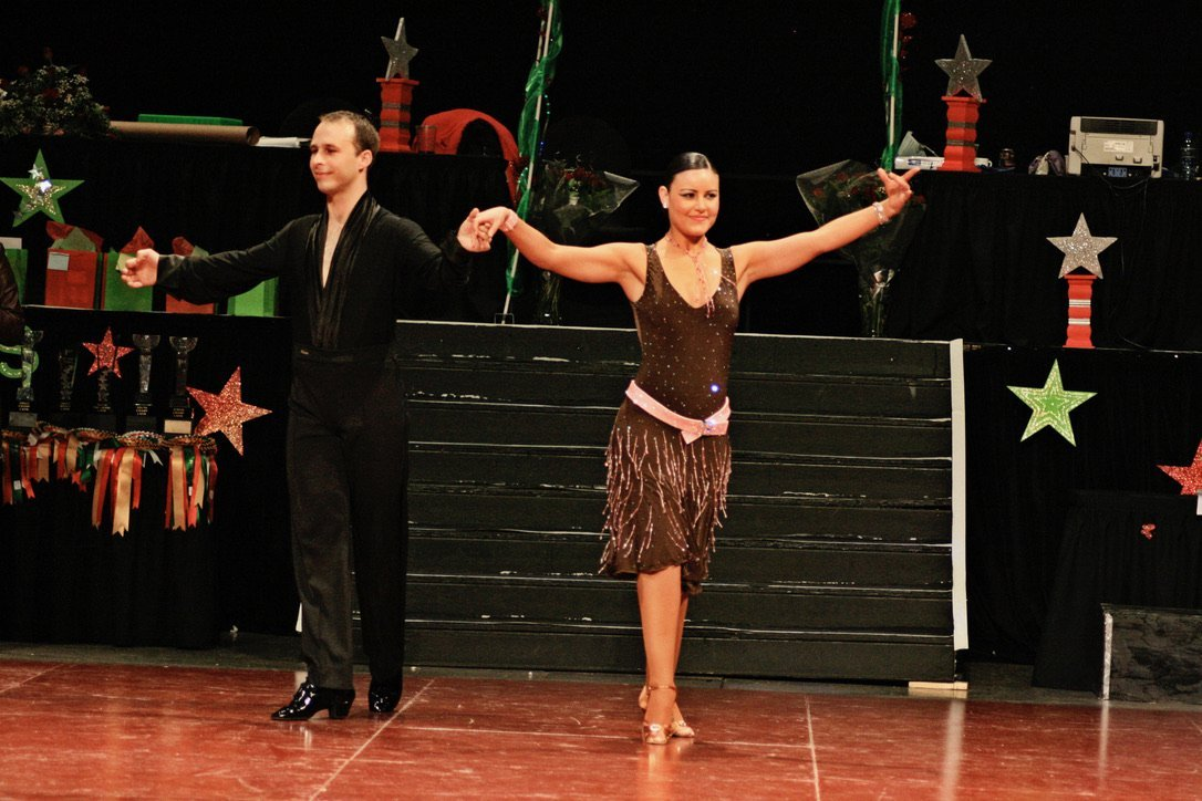 Ryan and Candy Da Silva Competing in Dance Competitions